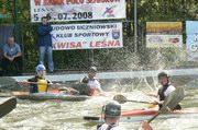 Mistrzostwa Polski Seniorów w Kajak Polo – Leśna 2008